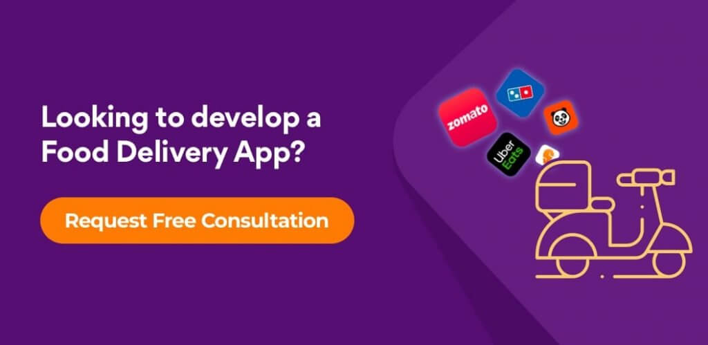 food Delivery Solution CTA