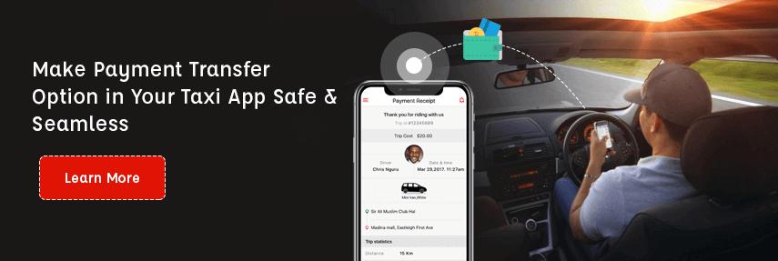 Taxi app solution - CTA