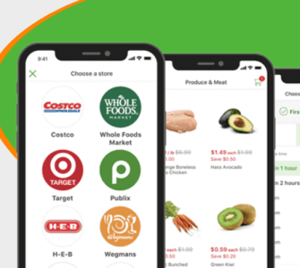 E commerce On demand Grocery App Platform