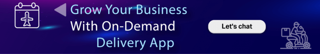 on Demand App Solution CTA