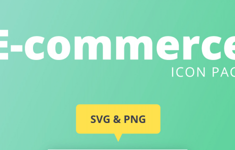 Ecommerce icon page