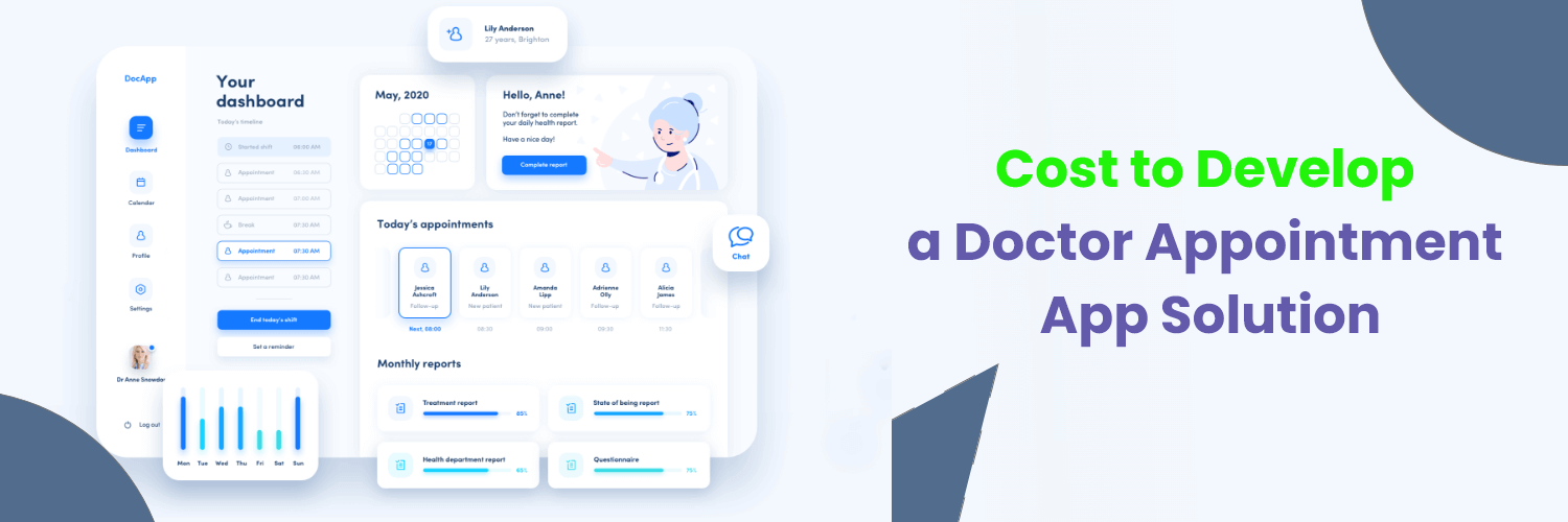 How Much Does it Cost to Develop a Doctor Appointment App Like ZocDoc? - Nectarbits