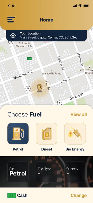 fuel app solution