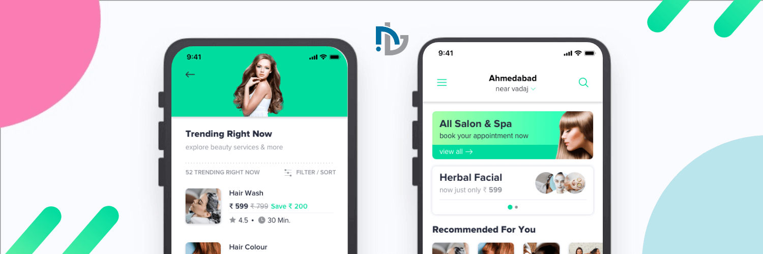 salon app solution Development