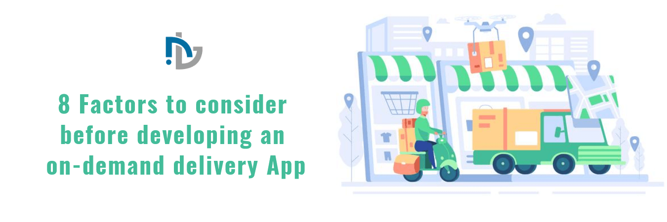 NTC -developing an on-demand delivery App