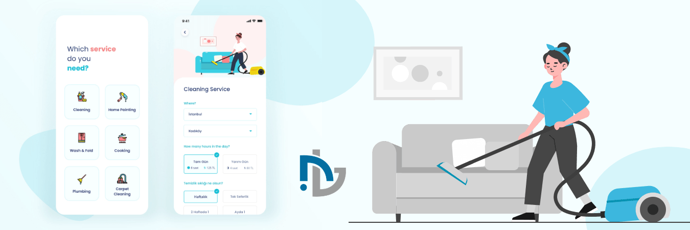 NTC - House Cleaning App Solution