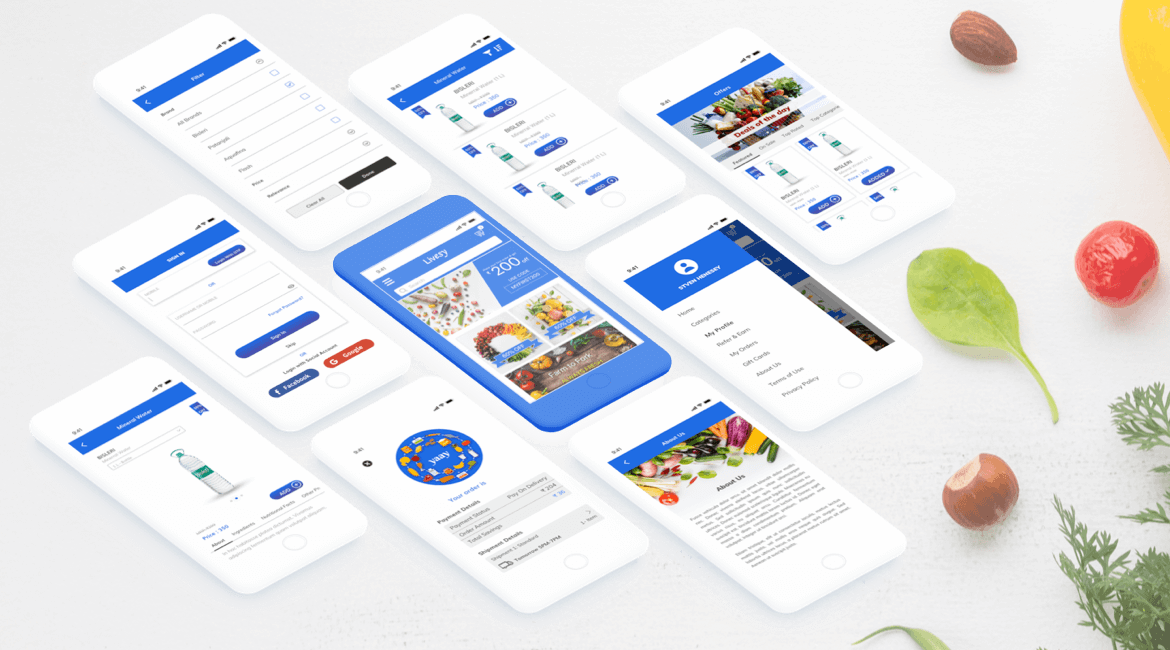 On-Demand grocery delivery service App India